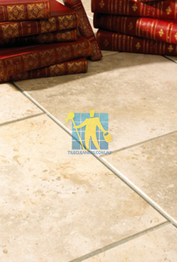 limestone tiles brushed jerusalem grey gold sample Brisbane cleaning