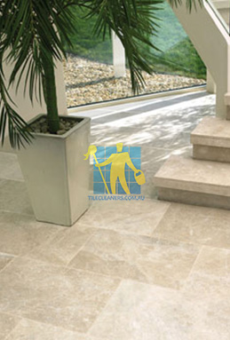 limestone tiles honed santa anna Brisbane cleaning