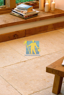 limestone tiles tumbled jerusalem gold Brisbane cleaning